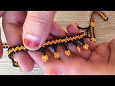 Beaded Earrings Patterns, Bead Earrings, Beaded Necklace, Beaded Bracelets, Diamond Earrings, Beading Techniques, Beading Tutorials, Loom Bands Designs, Beard Jewelry
