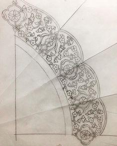 Discover recipes, home ideas, style inspiration and other ideas to try. Islamic Art Pattern, Pattern Art, Arabesque, Gatos Disney, Illumination Art, Turkish Art, Calligraphy Art, Illuminated Manuscript, Line Art