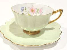 Hey, I found this really awesome Etsy listing at https://www.etsy.com/listing/259429527/wild-anemone-shelley-tea-cup-and-saucer