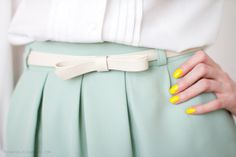 Would live to have that skirt and belt
