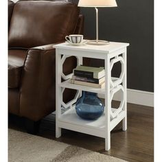 Convenience Concepts Omega End Table - 203210W