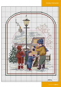 Gallery.ru / Фото #45 - Cross Stitch Collection №268 2016 - Chispitas