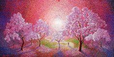 Chris Quinlan Art | Paintings Palette Knife Painting, Contemporary Paintings, Art Paintings, Impressionism, Art Gallery, Artist, Image, Art Museum, Painted Canvas