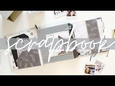 scrapbook anual 2020 TUTORIAL SCRAPBOOKING enero - YouTube Kit, Scrapbooks, Magazine Rack, Blog, Storage, Youtube, Furniture, Home Decor, January