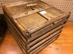 antique egg crate
