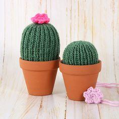 Comment faire un cactus en tricot | DeSerres