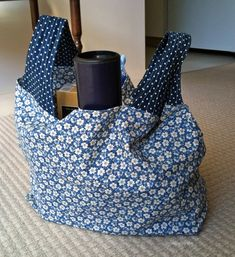 Reusable Fabric Grocery Bags - I originally found this great project on freeneedle.com along with 1,000s of other free sewing and craft ideas!