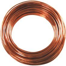 Copper Annealed wires are self tying - wrap around themselves and stay Soft and flexible Hands stay clean and cut free Recommended to use for art projects - fastening - crafts - and fixing up fences 20 gauge 50