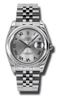 Rolex Datejust 36mm - Steel Domed Bezel - Jubilee Bracelet (Style No: 116200 rrj) $6,700