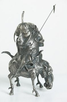 Скульптурное литьё от Даши Намдакова