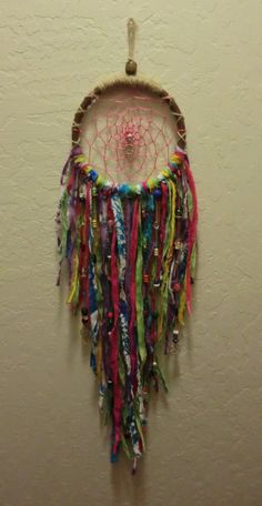 Gypsy/ Bohemian/ Peace/ Dream Catcher/ Wall by JillsCuriosities