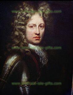 Irish Historical Figures - Patrick Sarsfield portrait - $18.50