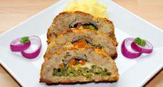Töltött fasírt recept   APRÓSÉF.HU - receptek képekkel Meatloaf, Meat Recipes, Food, Essen, Yemek, Meals