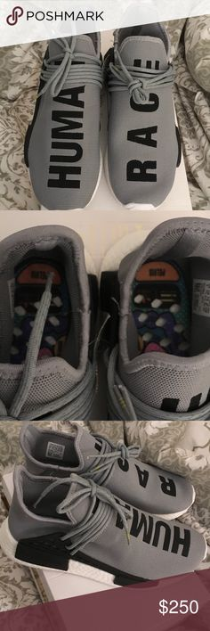 Adidas NMD human race sneakers Size men's US 8.   Women's 10 these are a sample of an unreleased colorway Adidas Shoes Sneakers