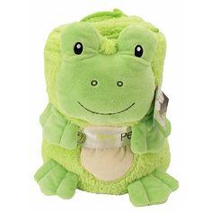 """Animal Adventure My Pet Blankie Grand Stuffed Frog - Fergie - Animal Adventure - Toys """"R"""" Us"""
