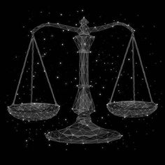 Astrology Digital Art - The Constellation Of Libra by Malte Mueller Capricorn Element, Libra Art, Libra Traits, Libra Horoscope, Virgo And Libra, Astrology, Libra Images, Signo Libra, Music Artwork