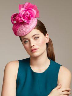 Lady Fancy Burlesque Party Cocktail Fascinator Teardrop Riding Hat Black UK