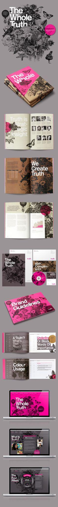 레이아웃 디자인(layout design) / Truth Branding