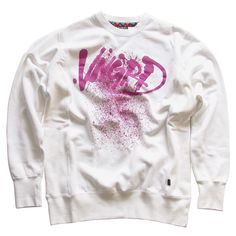 Splatter Crewneck - White On € Crew Neck, Graphic Sweatshirt, Sweatshirts, Clothing, Sweaters, Fashion, Collar Pattern, Outfit, Moda