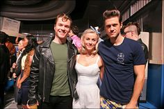 See What They Didn't Show on TV in These Behind-the-Scenes Shots From Grease: Live! Grease 1, Grease Live, Broadway Theatre, Musical Theatre, Broadway Shows, Grease Musical, Next To Normal, Live Television, Aaron Tveit