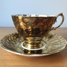 Engraved Candy Bowl as Gift Set of Turkish Copper Engraved Lux Coffee Pot Coffee Cup with its Lid and Saucer-Two Units Golden Color Spoon