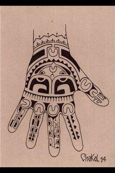 Marquesian hand