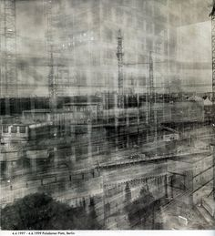 year long exposures of potsdamer platz by the amazing Michael Wesely
