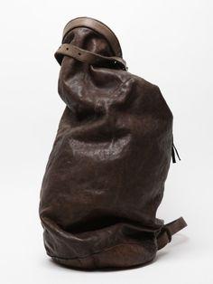 Boris Bidjan Saberi Leather Camping Bag  A perennial favorite in the world  of avant-garde fashion design a543a71953bc2