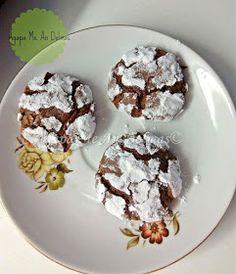 Αγάπα Με Αν...Dολμάς!: Κρακελέ Μπισκότα Σοκολάτας / Ραγισμενα Μπισκοτα