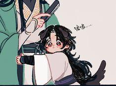 Anime Girl Hairstyles, Novel Characters, Fujoshi, Anime Comics, Chinese Art, Cute Drawings, China, Manhwa, Concept Art