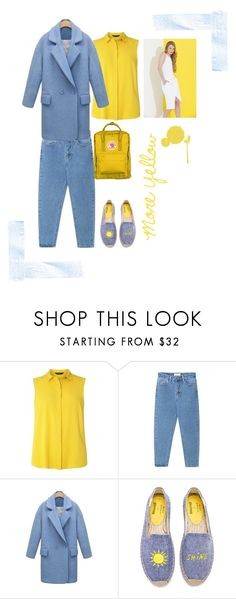 """Yellow"" by sad-suka-elf on Polyvore featuring мода, Dorothy Perkins, WithChic и Soludos"