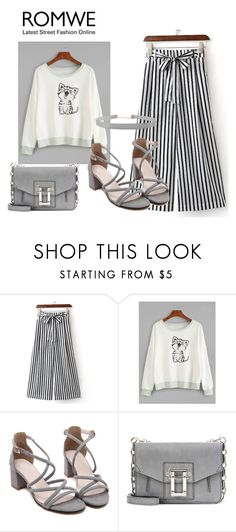 """ROMWE CONTEST"" by adancetovic ❤ liked on Polyvore featuring Proenza Schouler and Humble Chic"