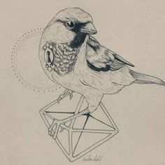 great little tattoo sketch! love all the elements!