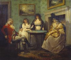 George Morland - The Fortune Teller