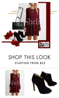 """SHEIN"" by mikolmarmi ❤ liked on Polyvore featuring Giuseppe Zanotti and Chanel"