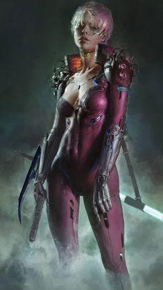 Cyberpunk Girl, Cyberpunk Character, Cyberpunk 2077, Character Art, Character Design, Sci Fi Characters, Science Fiction Art, Shadowrun, Sci Fi Art