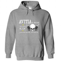 I Love AVITIA - Rule 8 AVITIAs Rules T-Shirts