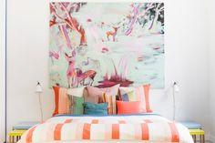 idée déco, inspiration déco, appartement coloré, styliste Linda Bergroth, Lovely Market