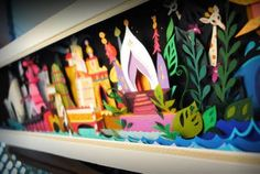 Say what you will but I still love the art inspired by the art of It's A Small World.