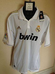 BNWT New Adidas Mens La Liga Real Madrid Home Football Shirt 2011 2012  V13659  b7a45fbd85be3