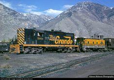 RailPictures.Net Photo: DRGW 5911 Denver & Rio Grande Western Railroad EMD GP9 at Provo, Utah by James Belmont
