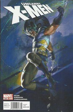 Marvel Uncanny X-Men comic issue 539