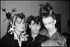 Phillip Sallon - Boy George - New Romantics - The Blitz Club Culture Club, Youth Culture, David Bowie Fashion, Blitz Kids, New Wave Music, London Pride, Romantic Goth, Stranger Things Steve, The Blitz