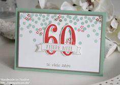 Stampin Up - Geburtstagskarte - Karte - Birthday Card - Card - Stempelset Dotty Angels - Stempelset Partyballons - Produktpaket So viele Jahre - Big Shot - Grusskarte ☆ Stempelmami