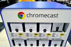 Chromecast the most popular streaming device sold in 2015