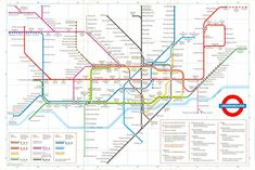 the tube images | ... new improved version of the tube map which removes the simple