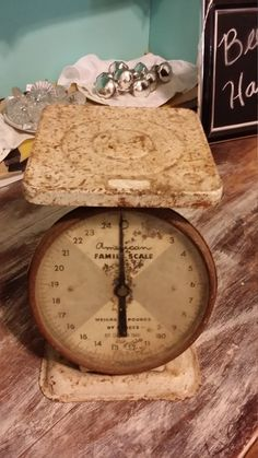 Vintage American Family Scale by BabyBAntiques on Etsy