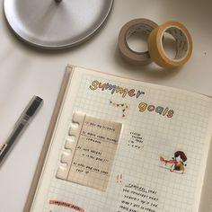 Gentle breeze my journal, bullet journal, journal aesthetic, study organiza