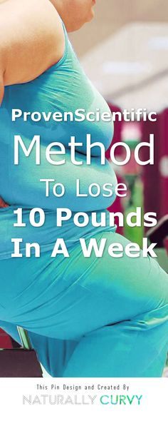 It's Safer To Lose 1-2 lbs Per Week, A Lie You Have Been Told For Entire Life Is About To Be Revealed, Proven Scientific Method To Lose 10 Pounds In A Week