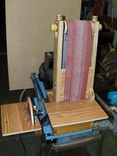 Kyle Scott's homemade belt/disk sander